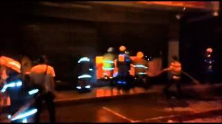 Incendio arrasó almacén, en Santander de Quilichao