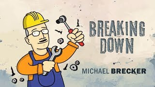 "Michael Brecker Killing  Blues Ending ""Master Class"""