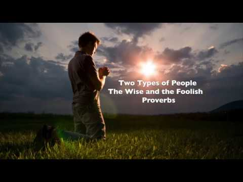 Two Types of People - The Wise Man and the...