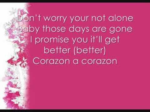 Corazon (You're Not Alone)- Prima J [lyrics]