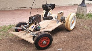 Drill Motor RC Electric Car - Uzaktan Kumandalı Çocuk Arabası #1