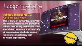 Indian Session Samples Bala Krishnan and Royalty Free Producer Sounds by Loopmasters