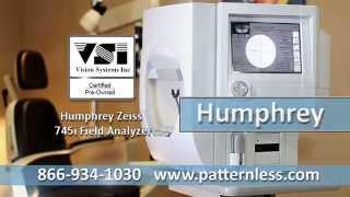 Humphrey 745i Visual Field Analyzer Perimeter