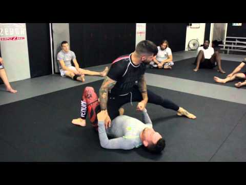 BJJ Technique | Backstep Pass from Knee Shield | Inferno, Marbloro NJ
