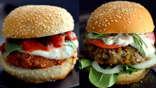 6 Veggie Burger Recipes (Vegan)