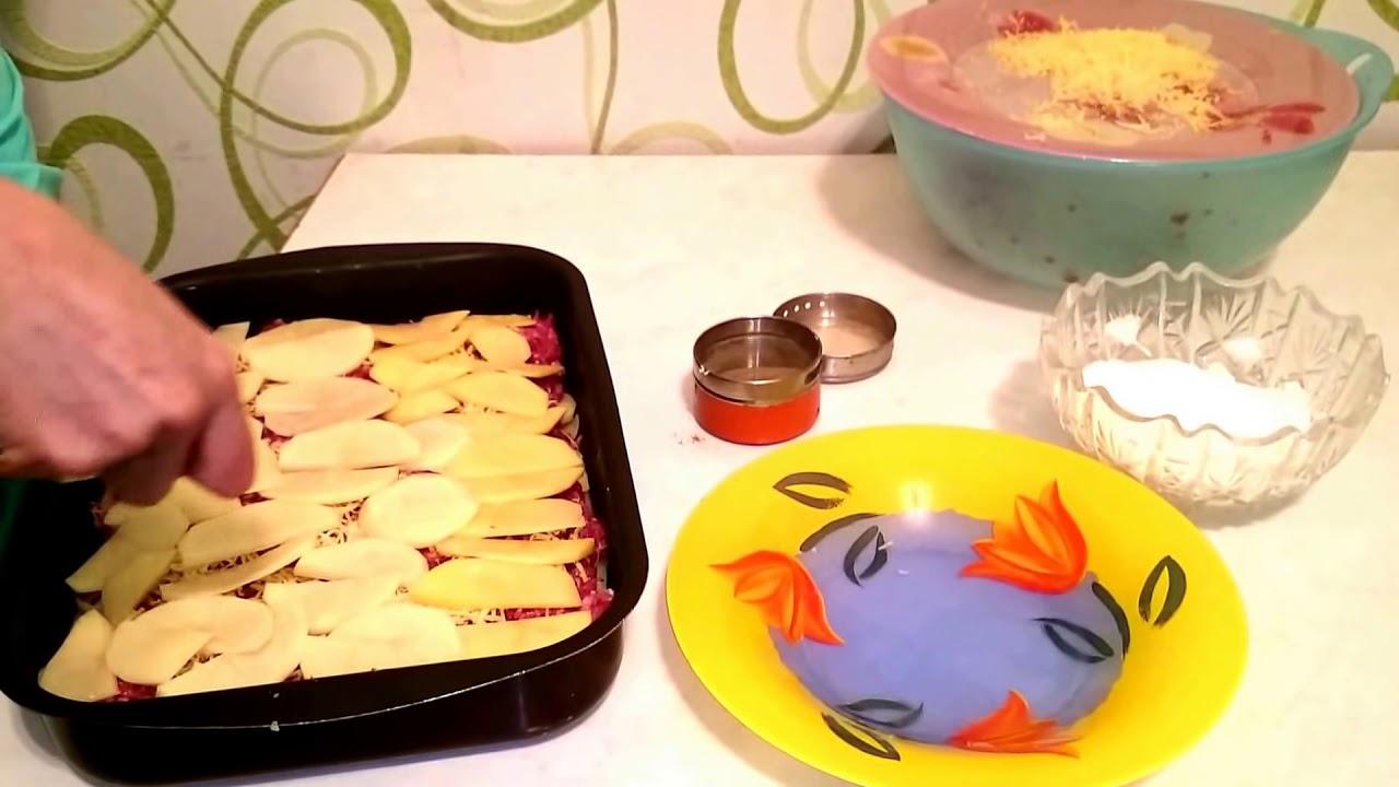 Запеканки из фарша рецепты в духовке