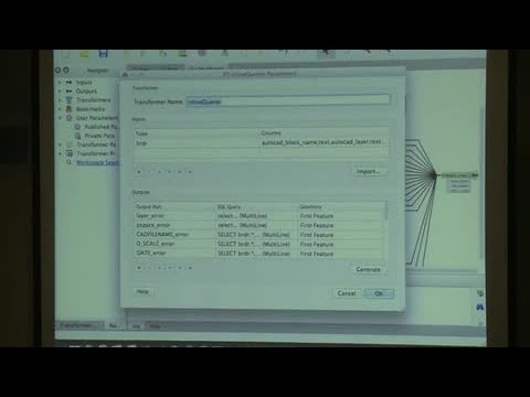 FME UC 2014: CAD Data Validation using FME