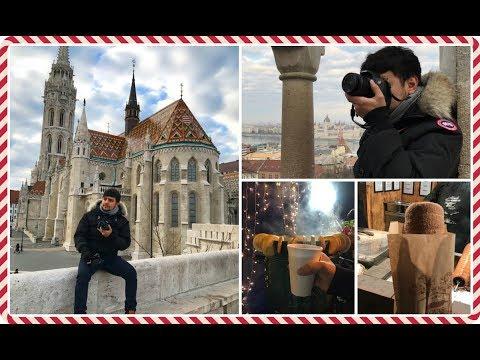 BUDAPEST, PROPRIO UN GIOIELLINO! ||VLOGMAS DAY 18 || LifeOfCesar