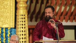 7th Devasthanam Dakshinamurthi Music Dance fest I welcome speech by Dr.J.P.Sharma
