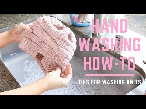 Tips for Washing Knits | Hand Washing HOW-TO