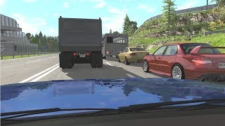 Dash Cam Crash Compilation 27 [Real Life Sounds] - BeamNG. Drive