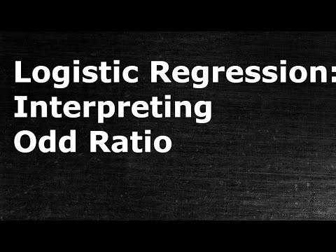 Logistic Regression: Understanding & Interpreting Odd Ratios
