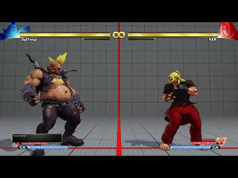 Season 3.5 SFV Every characters negative and most punishable moves. A visual aid for frame data.