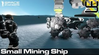 Space Engineers - Planets Survival Guide #5 - Our First Simple Mining Ship