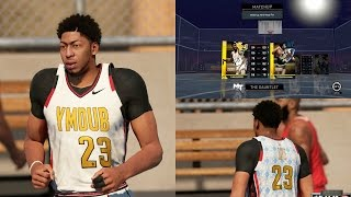 NBA 2K16 PS4 MyTEAM GAUNTLET - AMETHYST ANTHONY DAVIS DEBUT! GOLD LEGEND SHOWDOWN!!
