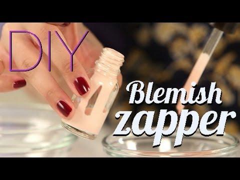 DIY: Make Your Own Overnight Blemish Zapper!