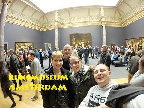 A Day in Amsterdam to visit the Rijksmuseum and go on a Tour boot 15 Nov 15