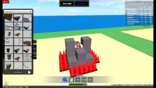 Roblox-How to make a moving car-and other awesome stuff