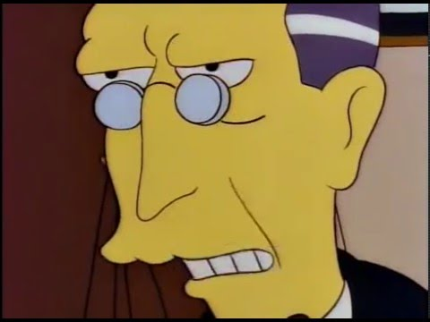 It's A Standard Clause (The Simpsons)
