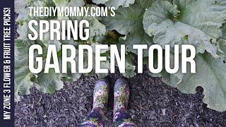 Скачать 2016 Spring Garden Tour My Zone 3 Perennial Flower Fruit Tree Picks