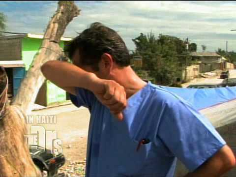 Haiti Earthquake  Dr. Jim Finds Food For A Starving Girl
