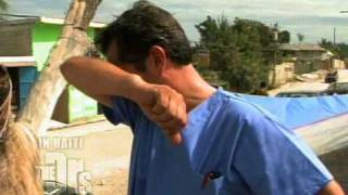 Haiti Earthquake - Dr. Jim Finds Food For A Starving Girl
