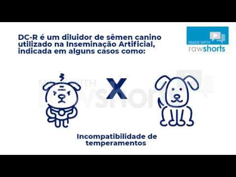DC-R - Diluidor de sêmen Canino