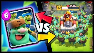 NEW! GOBLIN GIANT vs ALL CARDS | Clash Royale Goblin Giant Gameplay