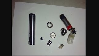 Як розібрати електронну сигарету eGo AIO