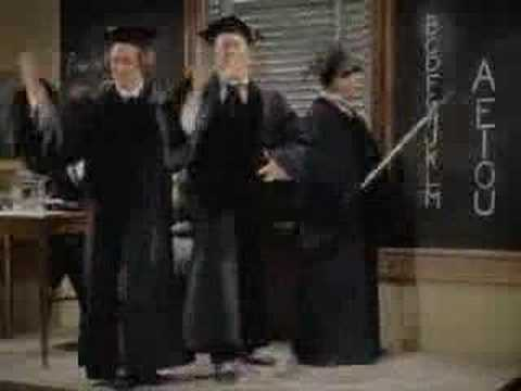 Three Stooges  Swingin the alphabet