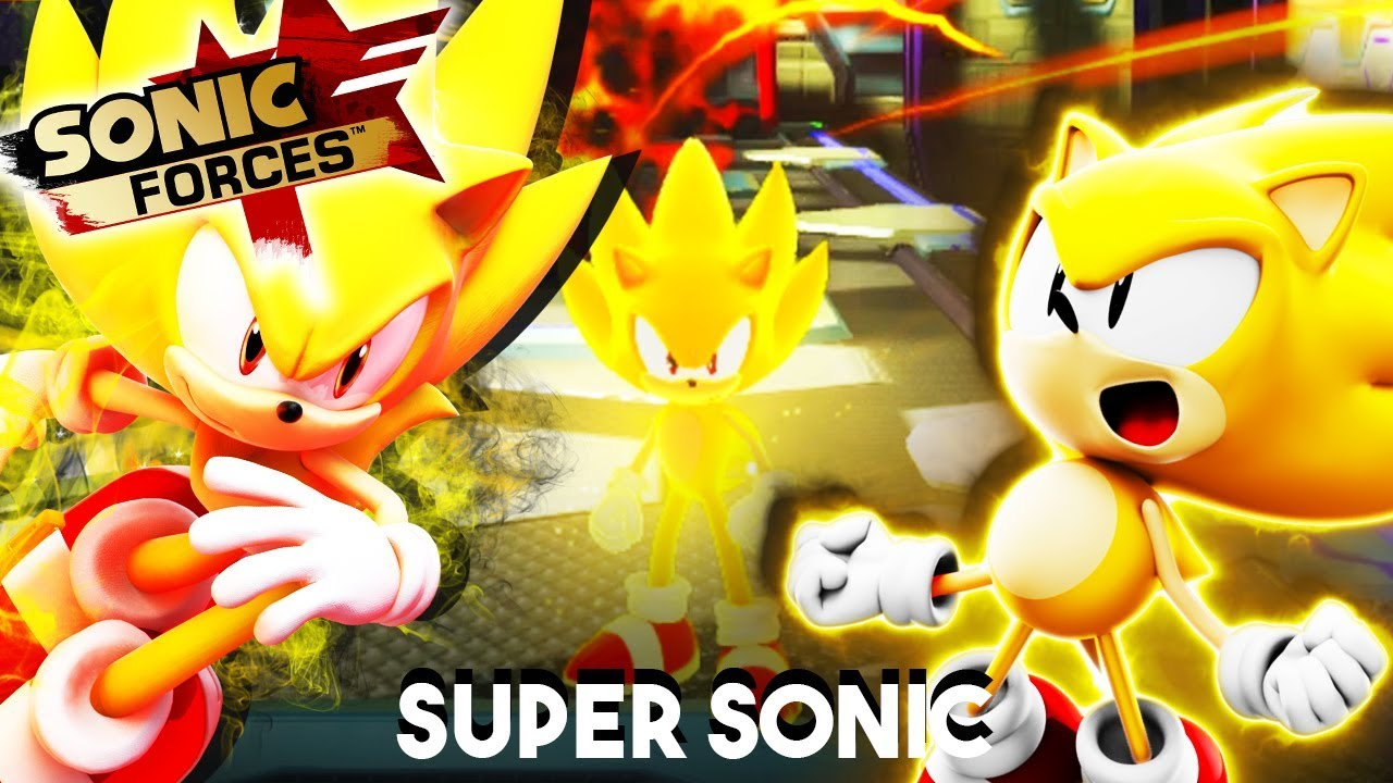 How to get super sonic in sonic forces modern super - Super sonic 6 ...