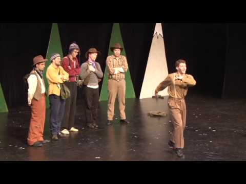 """Let's Build a Snowman"" Cannibal The Musical WINNIPEG FRINGE"