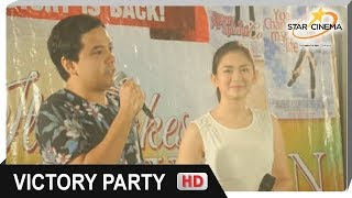 """Star Cinema UP CLOSE: """"It Takes A Man And A Woman"""" Victory Party"""
