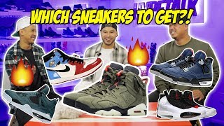 COP OR DROP?! UPCOMING SNEAKER RELEASES! (FIRE DROPPING)