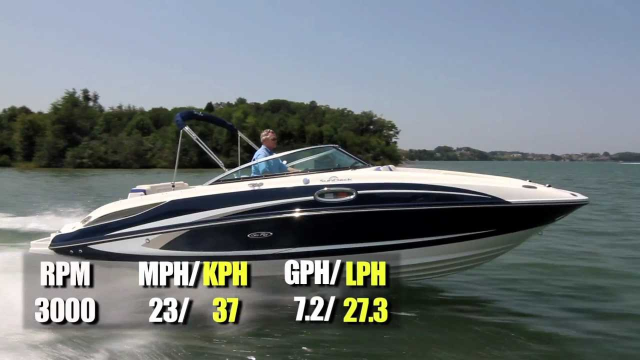 Sea Ray 260 Sundeck Test 2013 By Boattest Com Youtube