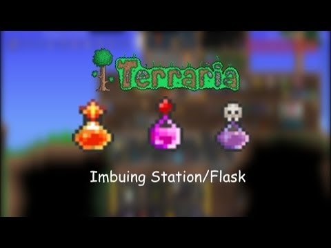 how to get alchemy station in terraria