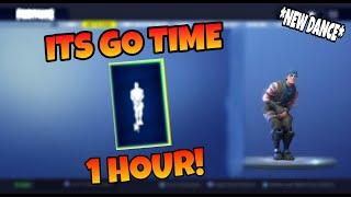 Fortnite ITS GO TIME EMOTE 1 HOUR! Season 6