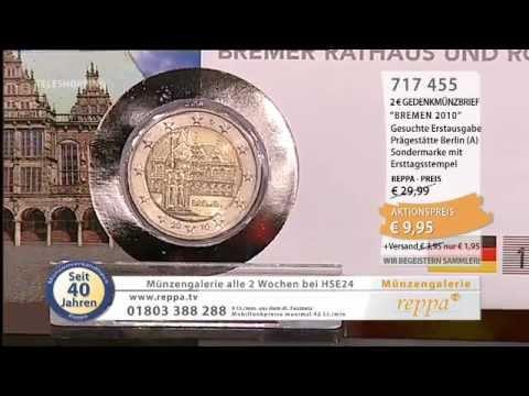 Wwwreppade 2 Euro Münzen Im Numisbrief Youtube