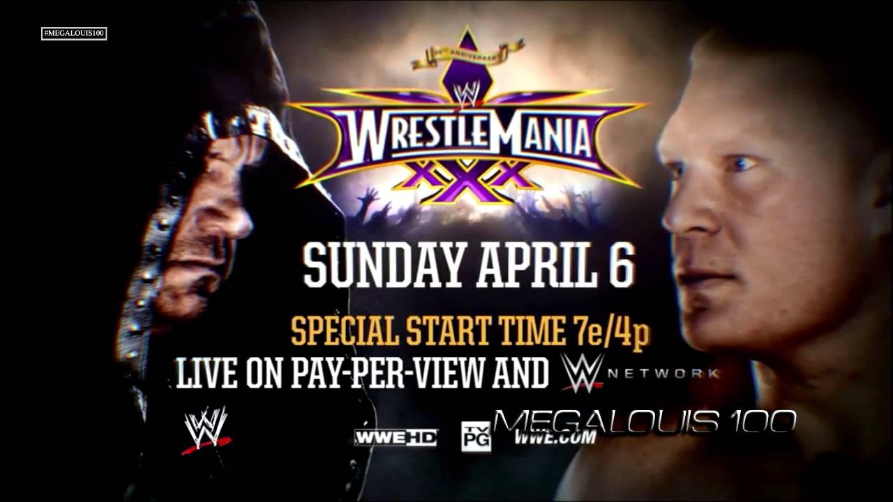 Undertaker vs. Brock Lesnar 2nd Wrestlemania 30 Promo Song ...