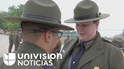 As se entrenan agentes hispanos de la Patrulla Fronteriza para detectar a indocumentados
