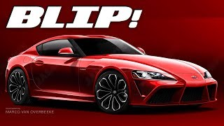 Here's The Best Look Yet At The Next Toyota Supra