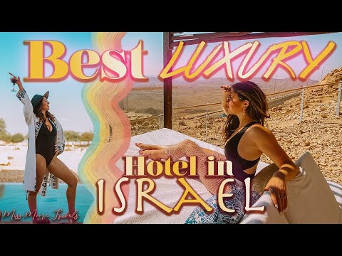 STAYING AT BERESHEET HOTEL IN ISRAEL | AMAZING LUXURY HOTEL IN MITZPE RAMON