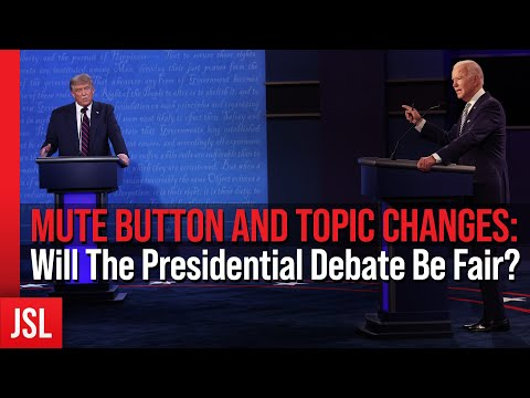 MUTE BUTTON AND TOPIC CHANGES: Will The Presidential Debate Be Fair?