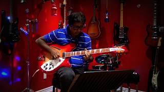 Amma Endral Anbu - Live Selfie Guitar Instrumental by Kumaran