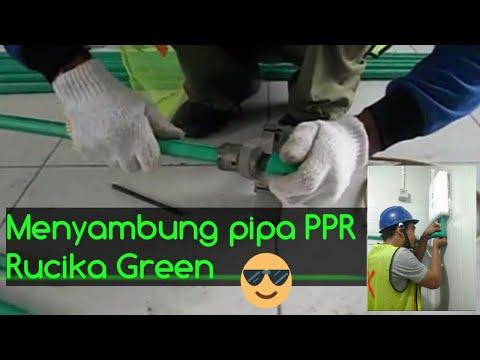 Cara Menyambung  Pipa PPR Wavin Tigris (ke-1)
