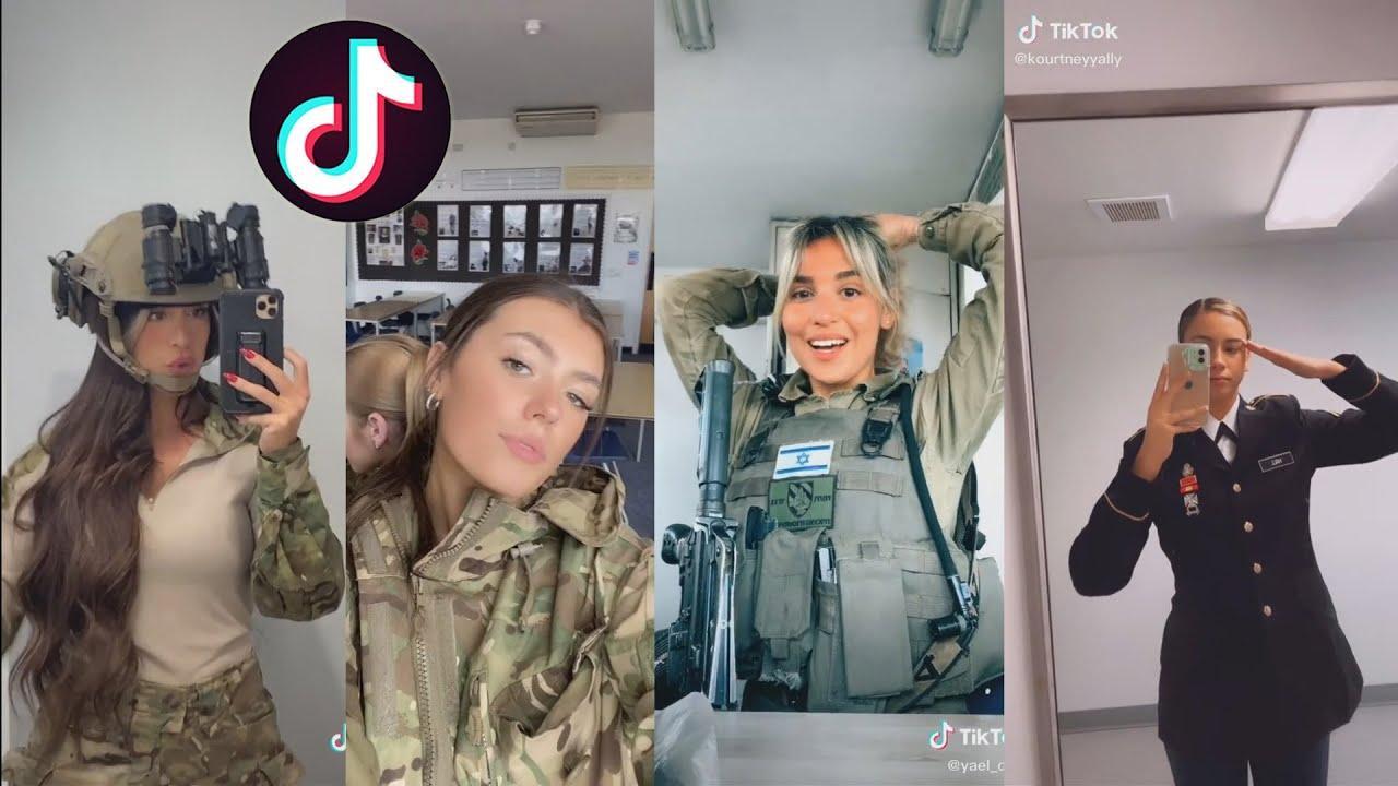 MILITARY TIK TOK GIRLS START WORLD WAR 3 **SHOCKING**
