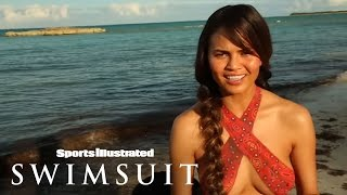 SI Swimsuit 2013 Body Painting Outtakes - Swim Daily