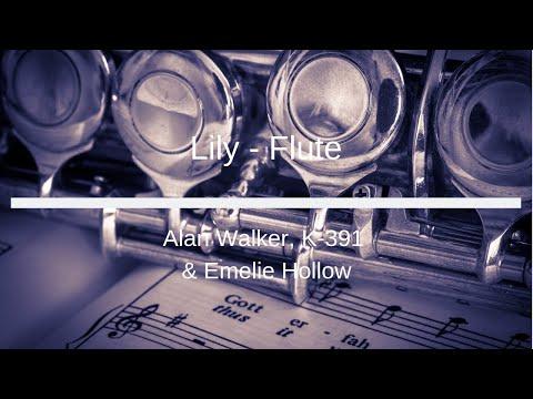 5k-sub-dedication---alan-walker,-k-391-&-emelie-hollow---lily---flute-sheet-music