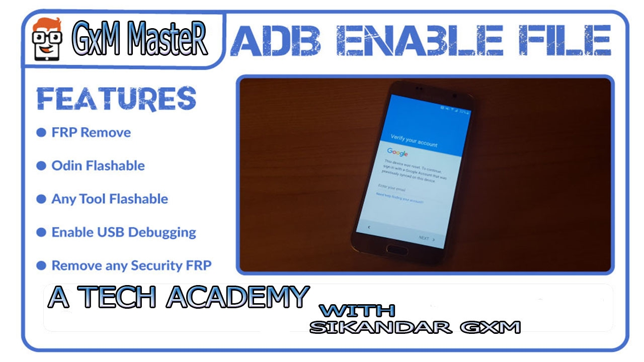 HOW TO SAMSUNG GALAXY ADB ENABLE FILE CREATE AND REMOVE FRP FOR SAMSUNG ALL  MODEL,S