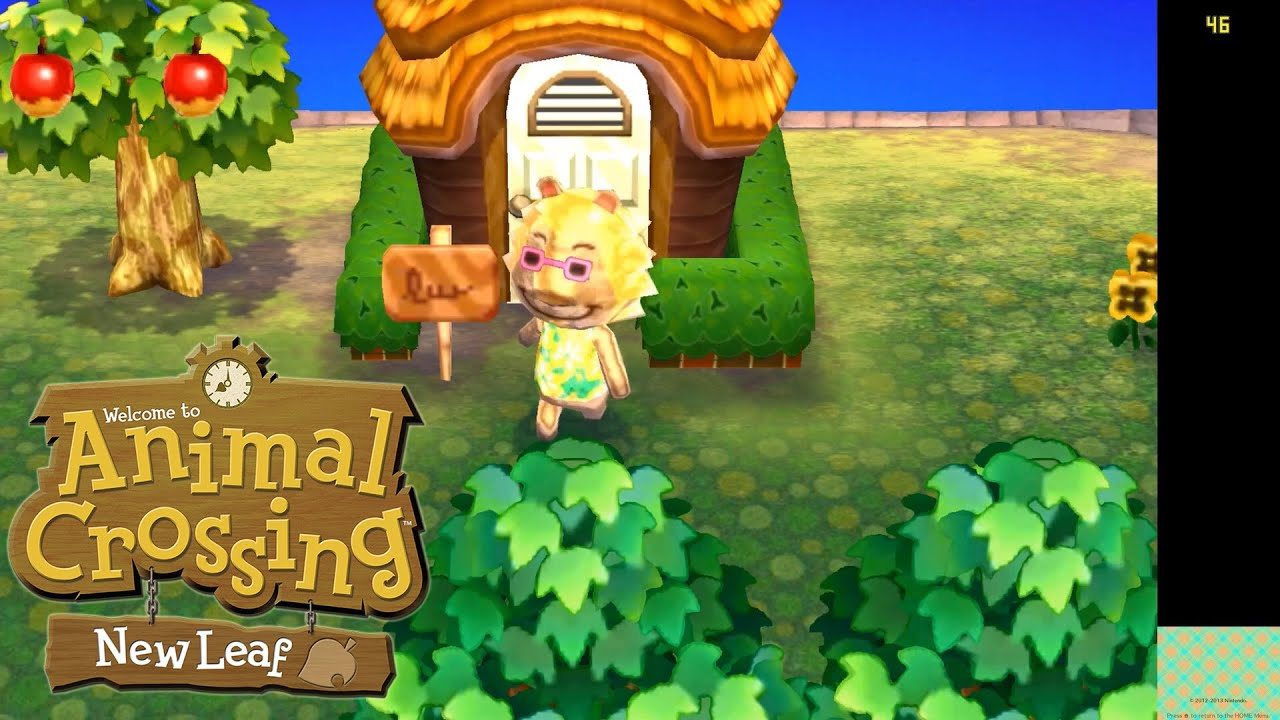 Animal Crossing: New Leaf (Issues) | Citra Emulator (CPU JIT) [1080p] |  Nintendo 3DS